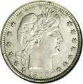 Barber Quarters: , 1896-S 25C --Cleaned--ANACS. MS60 Details. Collectors of thechallenging Barber quarter series soon learn there are three st...