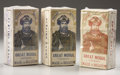 """Western Expansion:Cowboy, GAMBLERS """"GREAT MOGUL PLAYING CARDS - Imported from Belgium in the1880's, these are 3 sealed bricks of 6 decks each with re...(Total: 3 Items)"""