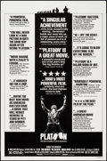 """Movie Posters:Academy Award Winners, Platoon (Orion, 1986). One Sheet (27"""" X 41"""") Review Style & Commercial Poster (23"""" X 35""""). Academy Award Winners.. ... (Total: 2 Items)"""