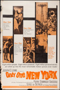 """Movie Posters:Documentary, Only One New York (Embassy, 1964). Poster (40"""" X 60""""). Documentary.. ..."""