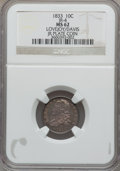 Bust Dimes, 1833 10C MS62 NGC. JR-4. This is the plate coin in the JRreference, Early United States Dimes 1796-1837. ...