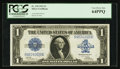 Large Size:Silver Certificates, Fr. 239 $1 1923 Silver Certificate PCGS Very Choice New 64PPQ.. ...
