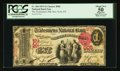 National Bank Notes:New York, New York, NY - $1 1875 Fr. 384 The Tradesmen's NB Ch. # 905. ...