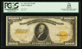 Large Size:Gold Certificates, Fr. 1220 $1000 1922 Gold Certificate PCGS Apparent Fine 15.. ...