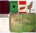 Books:Natural History Books & Prints, [Zoology]. Group of Six Works by Charles Darwin, Ernest Thompson Seton, et al. with topics ranging from poisonous snakes... (Total: 6 Items)