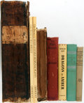 Books:Natural History Books & Prints, [Natural History]. Group of Eight Works on Miscellaneous Topics of Natural History, from human sexual customs to sea shells ... (Total: 8 Items)