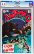 Silver Age (1956-1969):Adventure, Anthro #5 (DC, 1969) CGC NM 9.4 Off-white to white pages....
