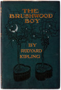 Books:Literature Pre-1900, Rudyard Kipling. The Brushwood Boy. Doubleday and McClureCompany, 1899. Illustrated. Publisher's original cloth...