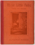 Books:Children's Books, Clarence Hawkes. Three Little Folks. Verses For Children.Picturesque Publishing Company, 1896. First edition. I...