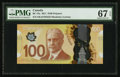 Canadian Currency: , BC-73a $100 2011. ...