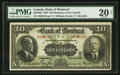 Canadian Currency: , Montreal, PQ- The Bank of Montreal $10 Jan. 2, 1923 Ch. #505-56-04. ...