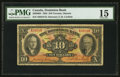 Canadian Currency: , Toronto, ON - The Dominion Bank $10 Jan. 2, 1935 Ch. # 220-26-04. ...