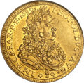 German States:Augsburg, German States: Augsburg. Free City gold Ducat 1689,...