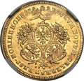 German States:Nurnberg, German States: Nurnberg. Free City gold 2 Ducats 1700-GFN,...