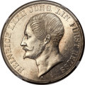 German States:Reuss-Lobenstein, German States: Reuss-Lobenstein. Heinrich LXXII 2 Taler 1847-A,...