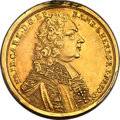German States:Bamberg, German States: Bamberg. Friedrich Carl gold 10 Gulden 1735,...