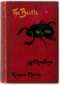 Books:Science Fiction & Fantasy, Richard Marsh. The Beetle. A Mystery. Skeffington & Son,1897. Second edition. Illustrations by John Williamson....