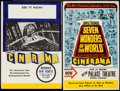 "Movie Posters:Documentary, Cinerama Lot (Cinerama Releasing, 1950s-1960s). Window Cards (3) (15"" X 22"", 14"" X 22.5"", 11.5"" X 16"") & Trimmed Window Card... (Total: 4 Items)"