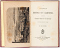 Books:Americana & American History, Lucia Norman. A Youth's History of California From the EarliestPeriod of Its Discovery. A. Roman & Company, 186...