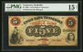 Obsoletes By State:Tennessee, Nashville, TN- Union Bank of Tennessee $5 Sept. 1, 1862 G214a Garland 1031. ...