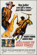 "Movie Posters:Western, Welcome to Hard Times & Other Lot (MGM, 1967). One Sheets (2) (27"" X 41""). Western.. ... (Total: 2 Items)"