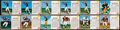 Football Cards:Sets, 1962 Post Cereal Football Partial Set (87/200) Plus Almost 50Extras. ...