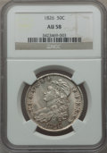 Bust Half Dollars: , 1826 50C AU58 NGC. NGC Census: (332/457). PCGS Population(232/410). Mintage: 4,000,000. Numismedia Wsl. Price for problem...