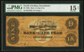 Obsoletes By State:North Carolina, Wilmington, NC- Bank of Cape Fear $9 Oct. 25, 1858 G304b. ...