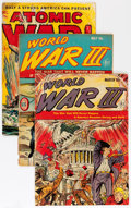 Golden Age (1938-1955):War, Golden Age Atomic War Related Group (Various Publishers, 1950s) Condition: Average GD-.... (Total: 5 Comic Books)