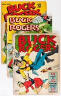 Golden Age (1938-1955):Science Fiction, Buck Rogers Group (Eastern Color, 1941-43).... (Total: 4 ComicBooks)