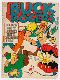 Buck Rogers #3 (Eastern Color, 1941) Condition: GD+