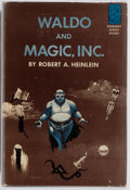 Books:Science Fiction & Fantasy, Robert A. Heinlein. Waldo and Magic, Inc. Doubleday & Company, 1950. First edition. Publisher's original cloth a...