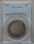 Bust Half Dollars: , 1808 50C XF40 PCGS. PCGS Population (83/334). NGC Census: (45/315).Mintage: 1,368,600. Numismedia Wsl. Price for problem f...