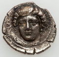 Ancients:Greek, Ancients: THESSALY. Larissa. Early to mid-4th Century BC. AR drachm(5.74 gm)....