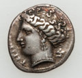 Ancients:Greek, Ancients: BRUTTIUM. Terina. Late 4th century BC. AR third stater(2.41 gm)....