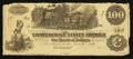 Confederate Notes:1862 Issues, T39 $100 1862 PF-10.. ...