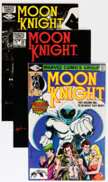 Modern Age (1980-Present):Superhero, Moon Knight Multiple Copies Long Box Group (Marvel, 1980-84)Condition: Average VF/NM....
