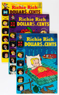 Silver Age (1956-1969):Humor, Richie Rich Dollars and Cents File Copy Long Box Group (Harvey, 1967-82) Condition: Average NM-....