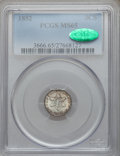 Three Cent Silver: , 1852 3CS MS65 PCGS. CAC. PCGS Population (188/103). NGC Census:(194/112). Mintage: 18,663,500. Numismedia Wsl. Price for p...