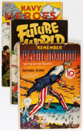 Golden Age (1938-1955):War, Comic Books - Assorted Golden Age War Comics Group (Various Publishers, 1940s) Condition: Average GD/VG.... (Total: 10 Comic Books)