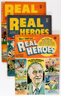 Golden Age (1938-1955):Non-Fiction, Real Heroes Comics #1-16 Group (Parents' Magazine Institute,1941-46) Condition: Average VG/FN.... (Total: 16 )