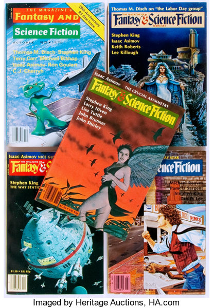 Stephen King]  The Magazine of Fantasy and Science Fiction