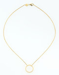 Estate Jewelry:Necklaces, Gold Necklace, Movado. ...