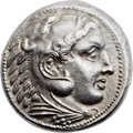 Ancients:Greek, Ancients: MACEDONIAN KINGDOM. Alexander III the great (336-323 BC).AR tetradrachm (26mm, 17.21 gm, 4h). ...