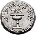 Ancients:Judaea, Ancients: Jewish War (AD 66 - 70). AR shekel (23mm, 14.15 gm, 12h)....