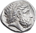 Ancients:Greek, Ancients: MACEDONIAN KINGDOM. Philip II (359-336 BC). ARtetradrachm (25mm, 14.38 gm, 11h). ...