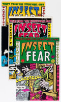 Bronze Age (1970-1979):Alternative/Underground, Insect Fear Complete Run #1-3 Group (Print Mint, 1970-72).... (Total: 3 Comic Books)
