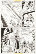 Original Comic Art:Panel Pages, Dick Ayers and Gerry Talaoc Unknown Soldier #218 Page 7 Original Art (DC, 1978)....