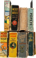 Big Little Book:Miscellaneous, Big Little Book Humor Group (Whitman/Saalfield, 1934-37)....(Total: 8 Items)
