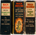 Big Little Book:Miscellaneous, Buck Rogers Big Little Book Group (Whitman, 1934-36) Condition:Average VG.... (Total: 3 Items)